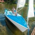 Łódkami po jeziorze, to nigdy się nie nudzi