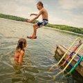Wodne zabawy